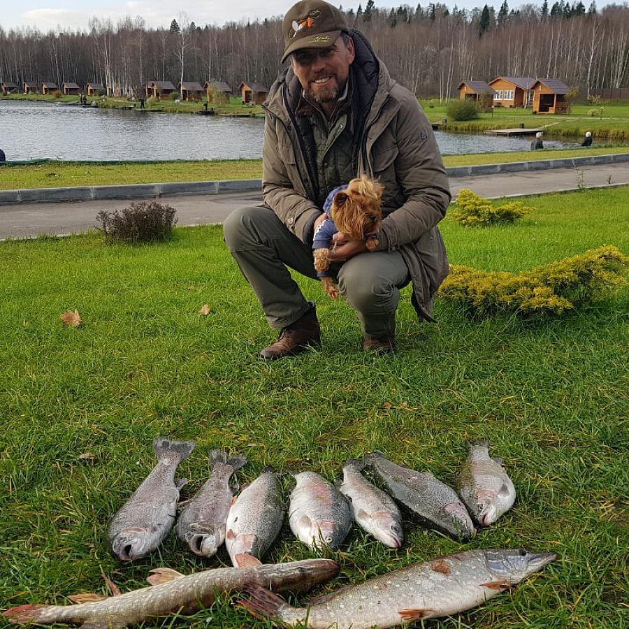 Платная рыбалка в огуднево золотой карась